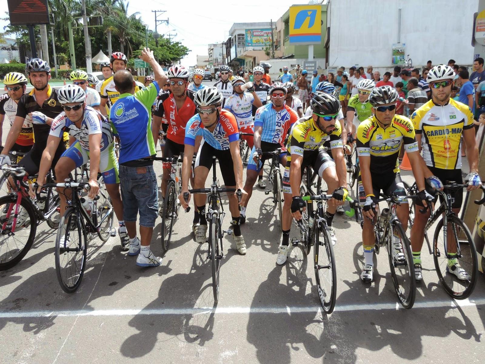 ESPORTE – Mais uma importante competição ciclística foi realizada em São Francisco de Itabapoana RJ,