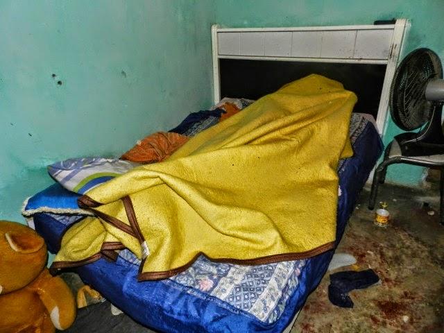 Ex-presidário morto a tiros dentro de casa em SFI