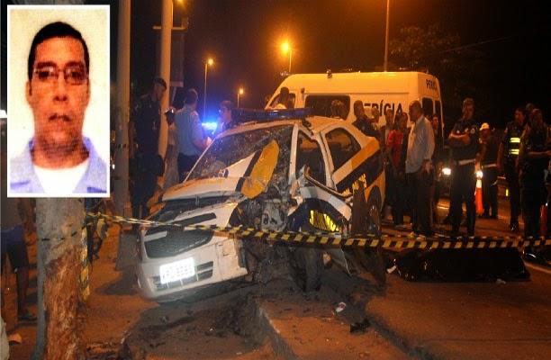 PLANTÃO – Guarda morre em acidente na BR-101