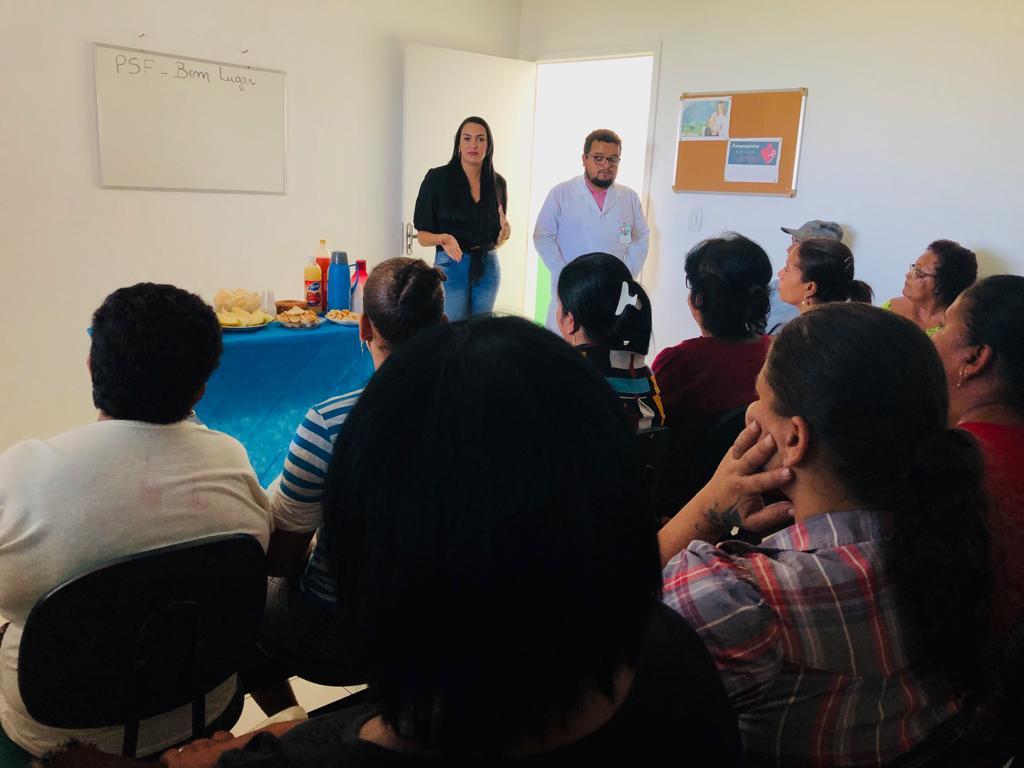 PSF de Bom Lugar promove palestra sobre diabetes