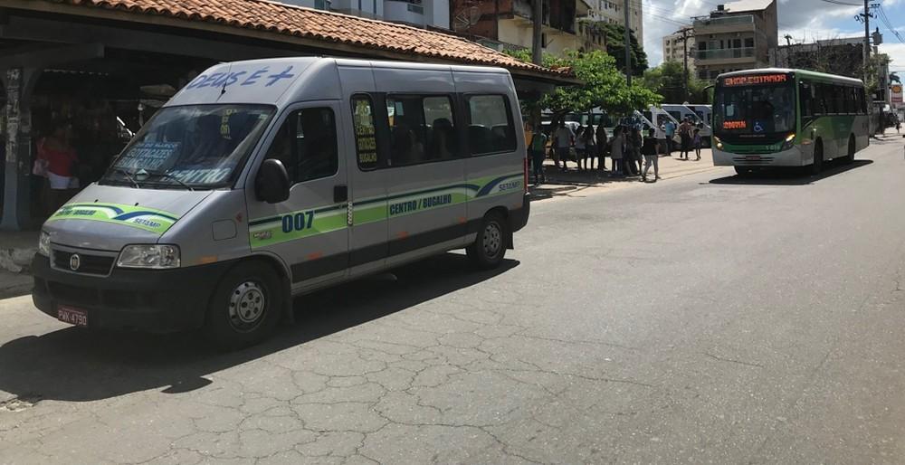Vans vão rodar até sexta e frota de ônibus será reforçada a partir de sábado em Campos, no RJ