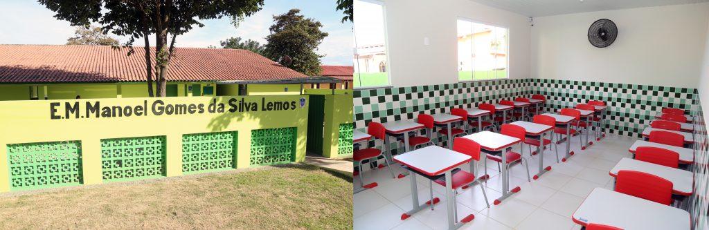 Prefeita entrega Academia da Saúde de Santa Clara e Escola de Morro Alegre