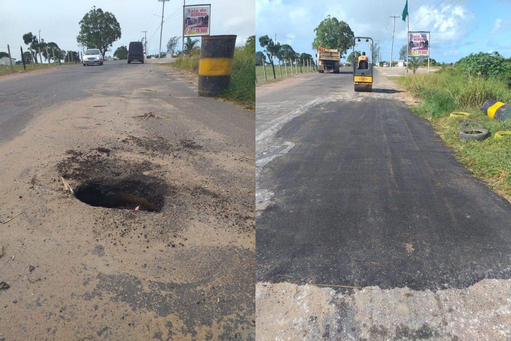 Parceria da prefeitura com o DER-RJ promove manutenção de rodovias