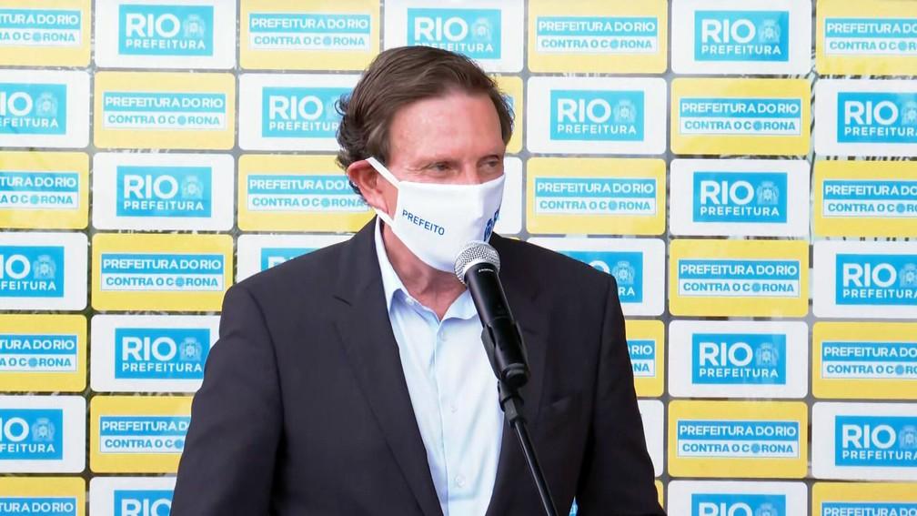 Crivella avalia como 'boa' ideia de 'espalhar' réveillon de Copacabana para outras áreas para evitar aglomeração