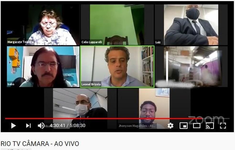Cena de sexo surpreende vereadores do Rio durante reunião virtual