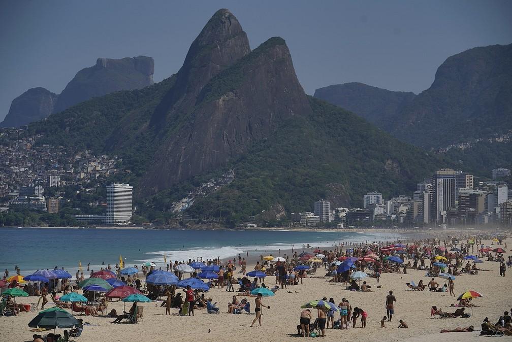 Feriado no Rio não tem previsão de chuva; praias já estão cheias