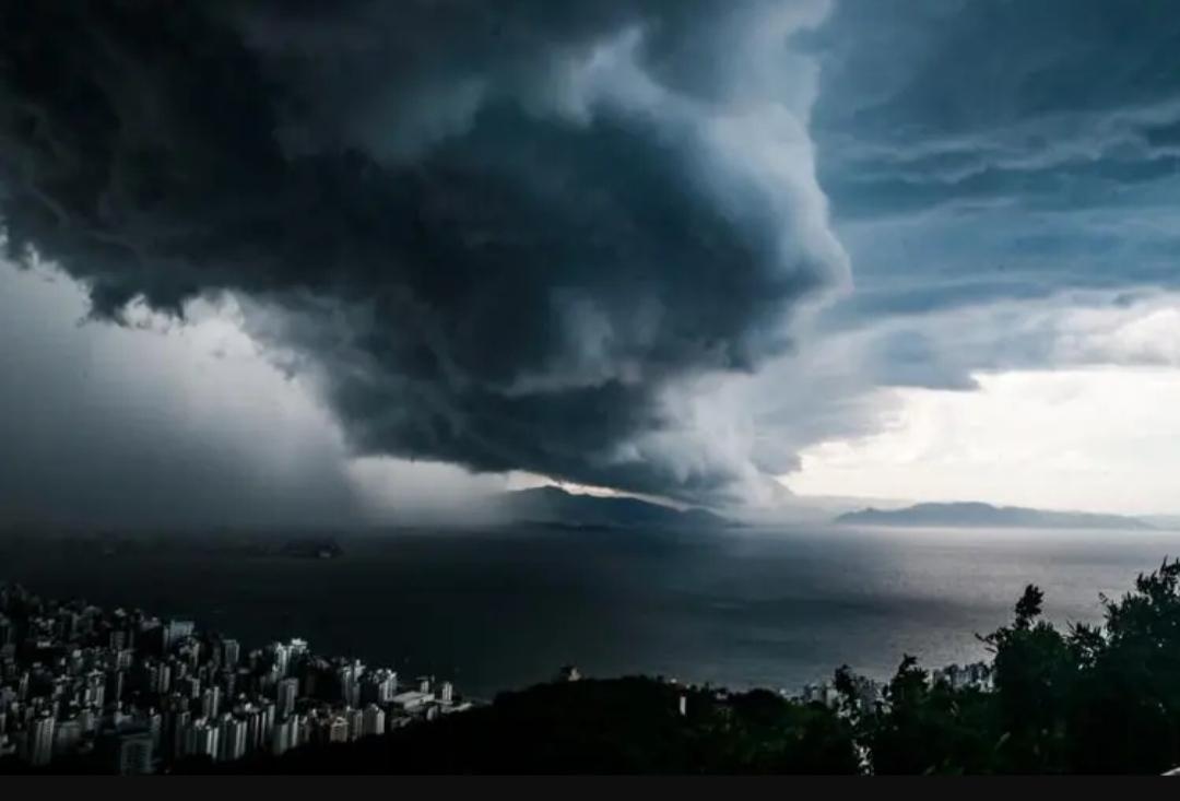 Defesa Civil em atenção por possível passagem de ciclone extratropical