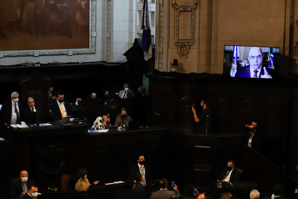 Por 69 a 0, Alerj aprova continuidade do impeachment de Witzel e autoriza processo por crime de responsabilidade