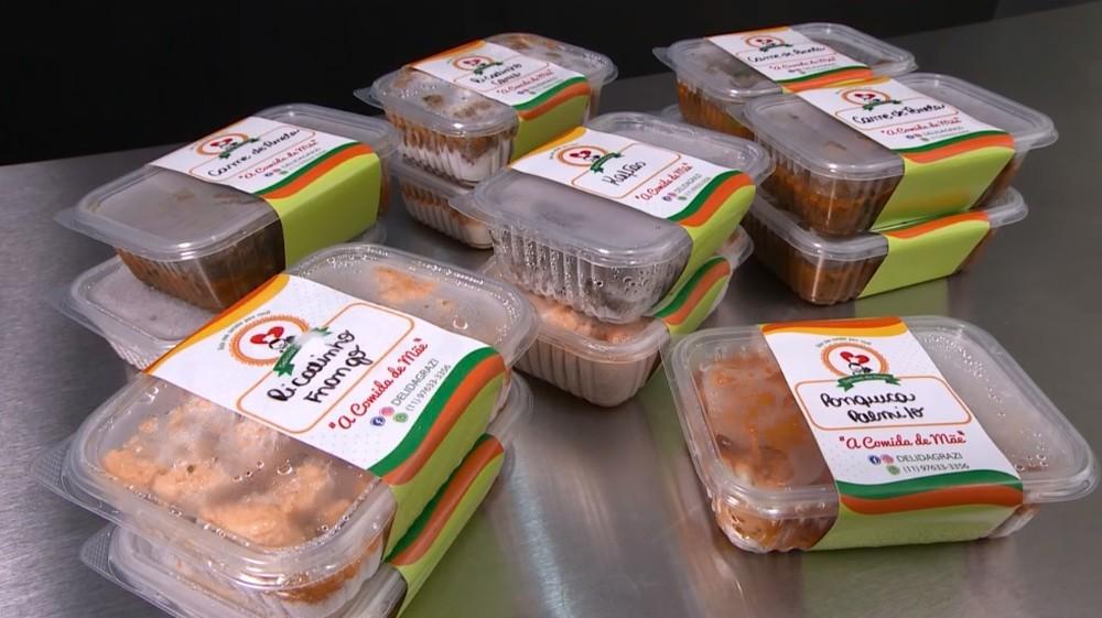 Empresárias faturam com a entrega de comida em casa durante a pandemia
