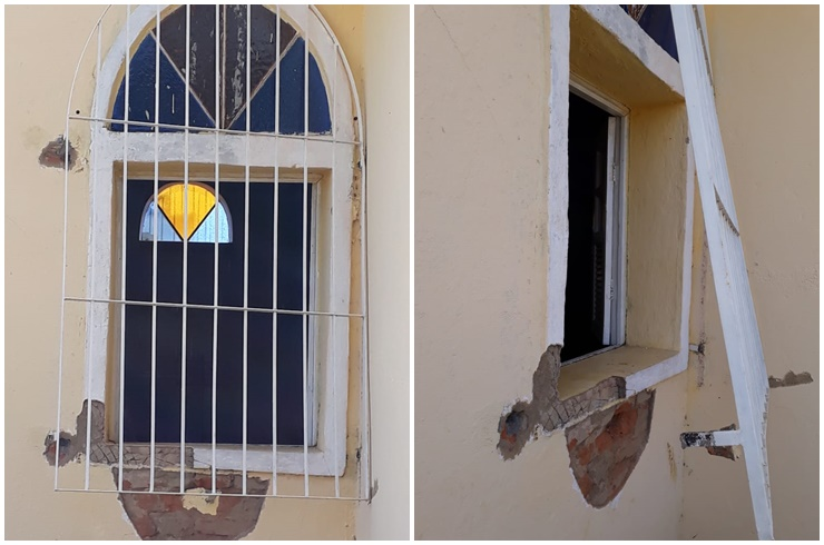 Igreja é arrombada e furtada em Campos