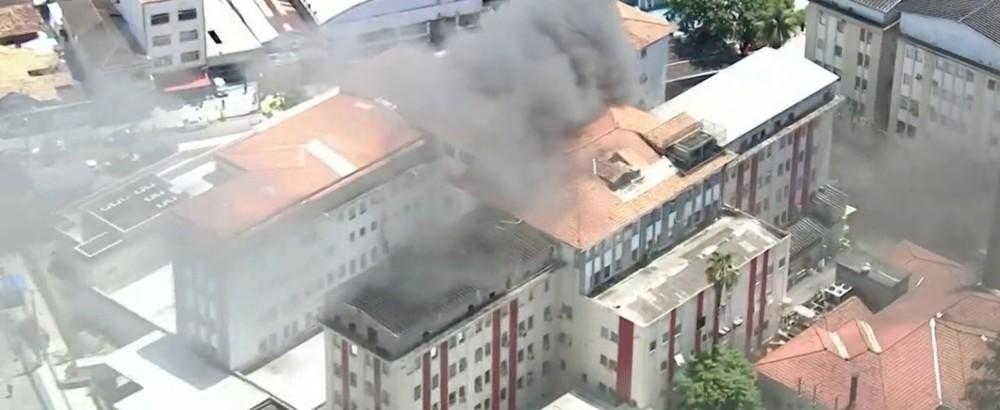 Hospital de Bonsucesso foi cogitado para ser referência no combate à Covid-19, mas foi descartado por falta de condições