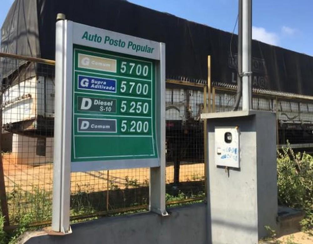 Petrobras reduz em 5% o preço da gasolina e em 4% o do diesel