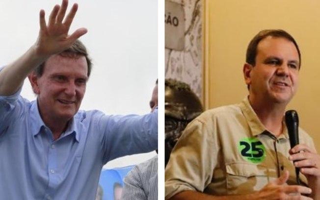 Pesquisa Ibope no Rio: Paes, 53%; Crivella, 28%