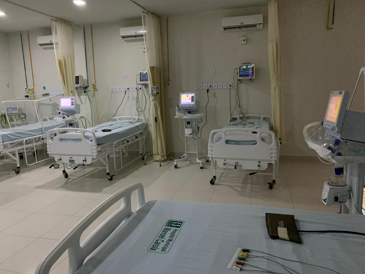 Ampliação de Leitos para COVID-19 no hospital Manoel Carola