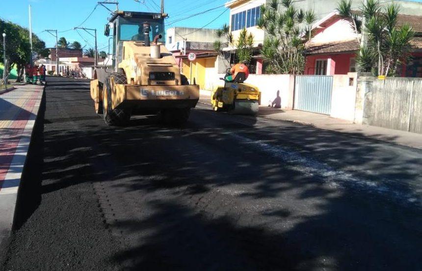 DER-RJ prossegue com Operação Tapa-Buracos nas rodovias de SFI atendendo solicitação da prefeitura