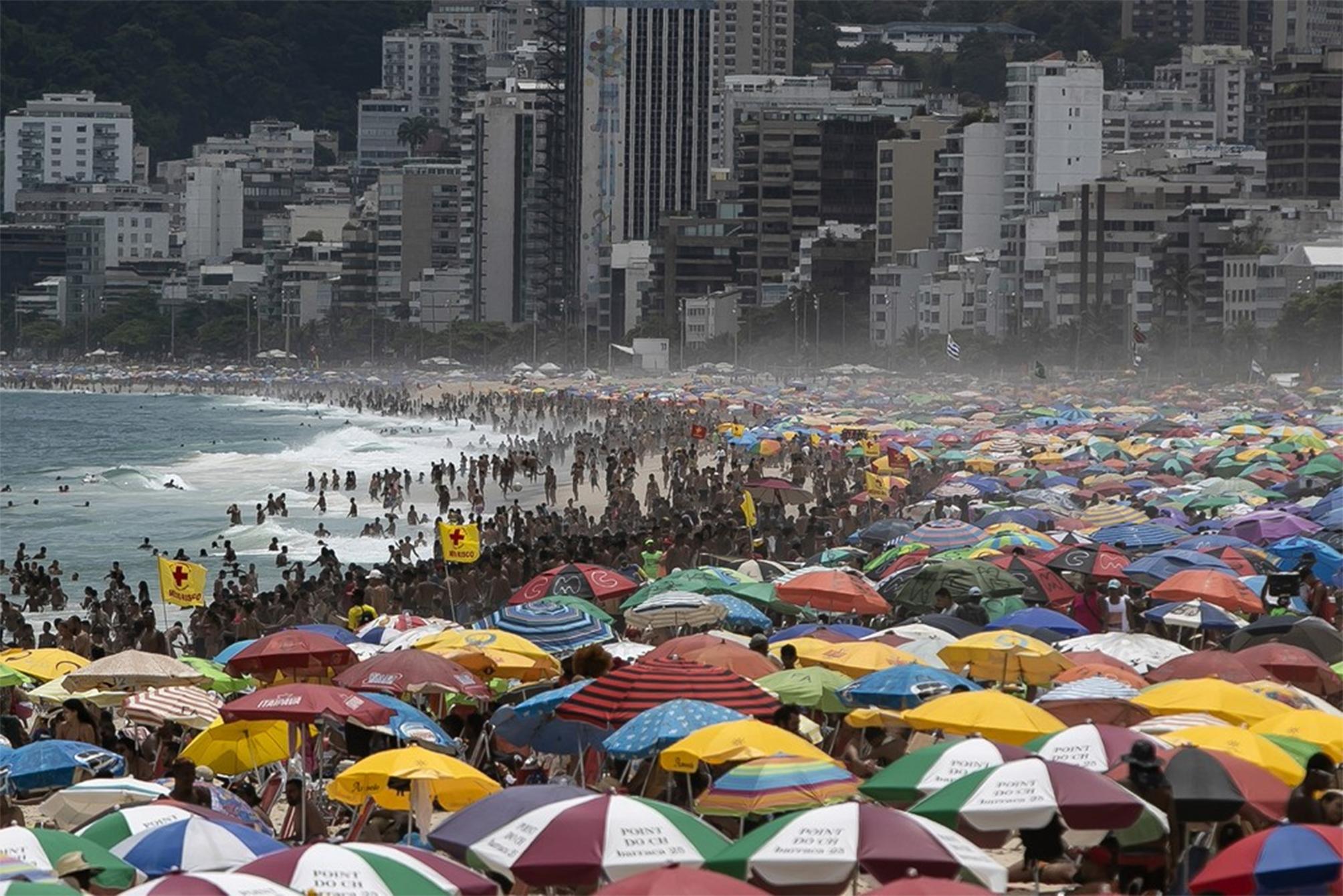 Rio bate recorde de calor pelo terceiro dia seguido com 40°C de temperatura