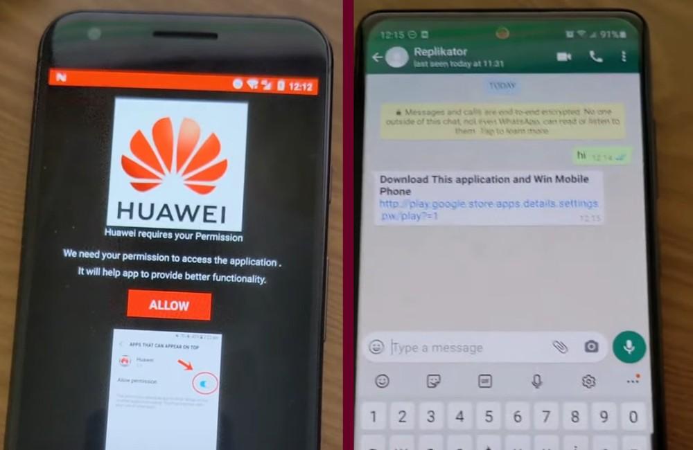 Vírus tenta se propagar pelo WhatsApp respondendo mensagens com link para aplicativo falso