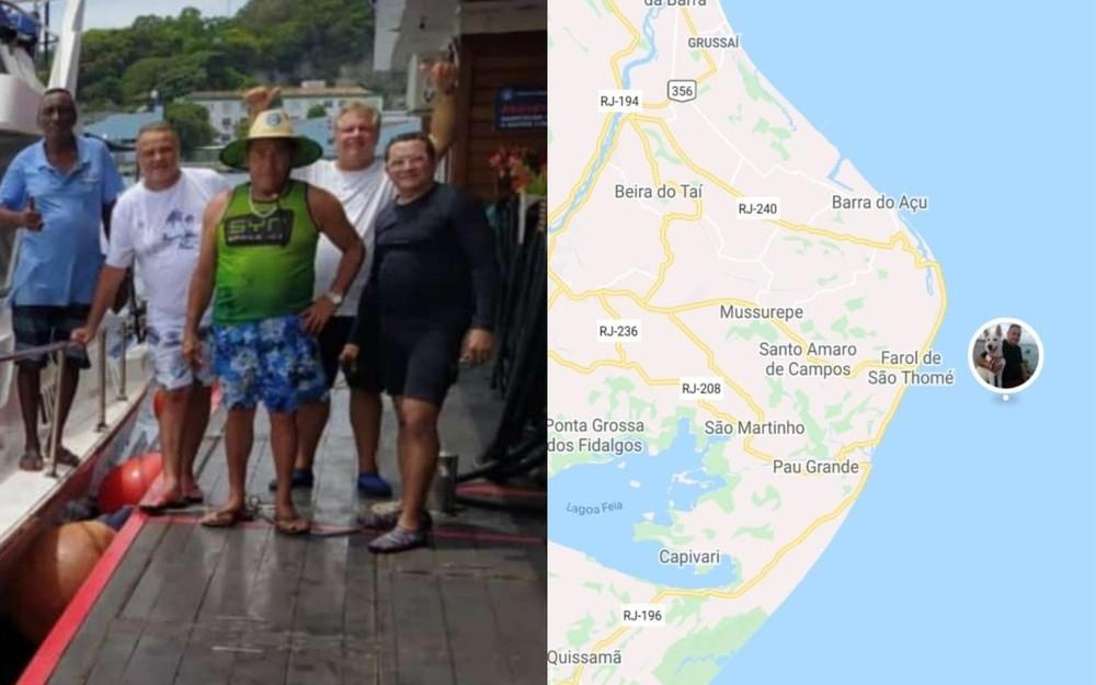 Lancha desaparece com cinco amigos depois de sair do Rio de Janeiro em direção a Fortaleza