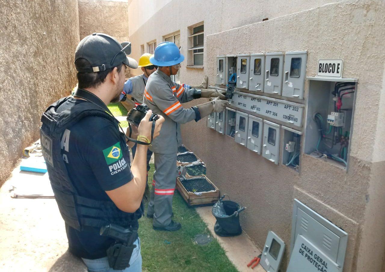 SFI: Operação para combater furto de energia em residências e comércios