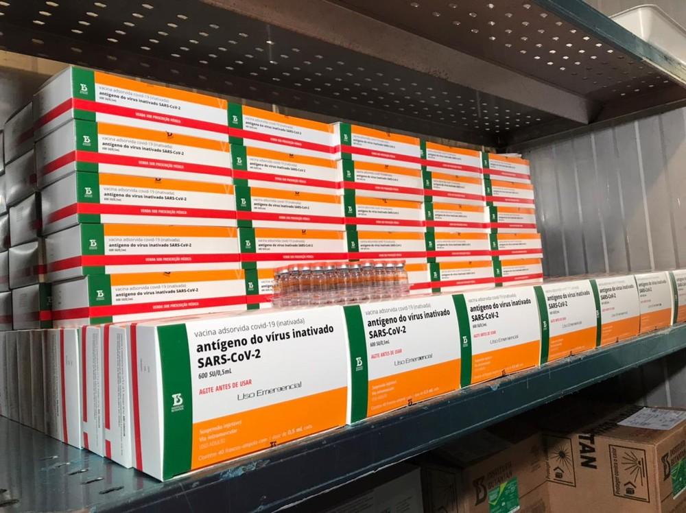 Ministério da Saúde assina contrato com o Instituto Butantan para a compra de mais 54 milhões de doses da CoronaVac
