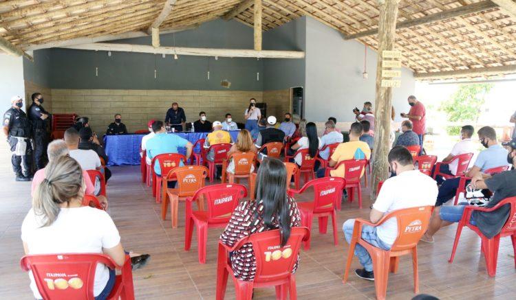 Vice-prefeito participa de retorno das reuniões do Conseg-SFI