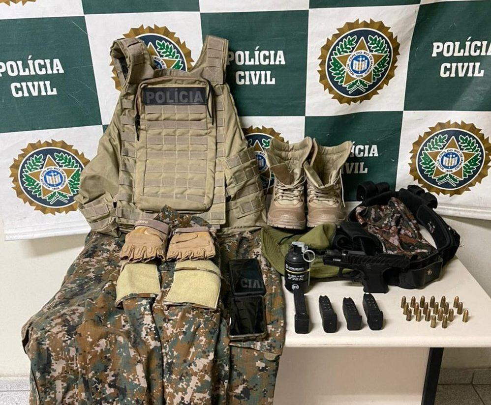 Polícia Civil prende no Rio 'homem de confiança' do miliciano Ecko