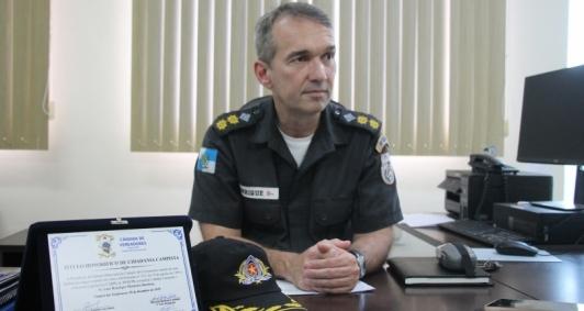 Tenente-coronel Luiz Henrique Barbosa anuncia saída do 8º BPM