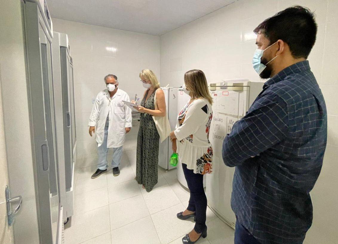 Ministério Público inspeciona processo de vacinação contra Covid-19