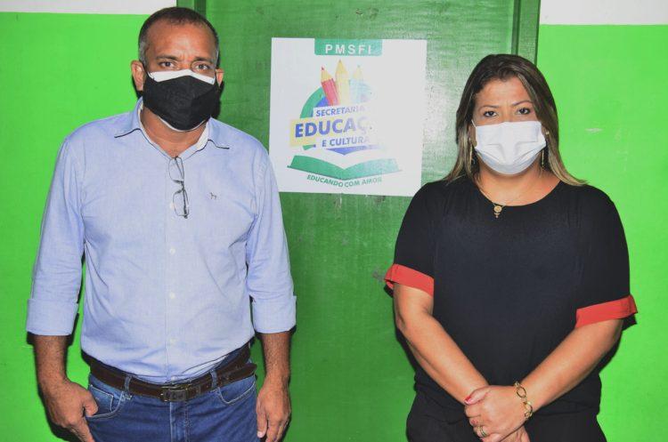 Prefeita anuncia Robson Santana como secretário de Educação e Cultura