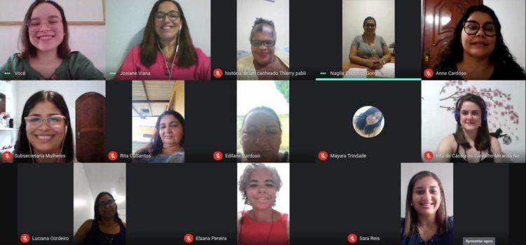 Reunião ordinária do Comdim destaca a importância de mais proteção às mulheres