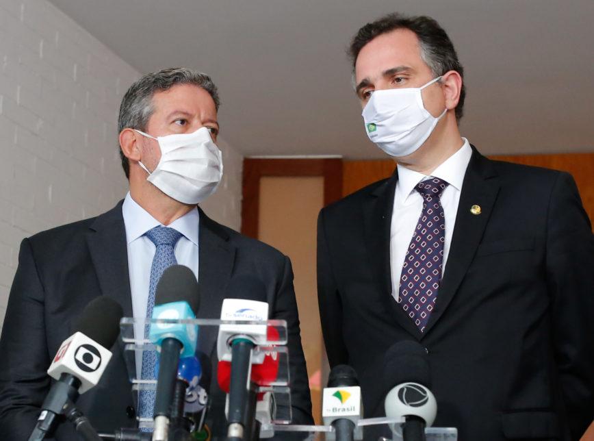 Lira e Pacheco pedem a secretário-geral da ONU antecipação de entrega de vacinas ao Brasil