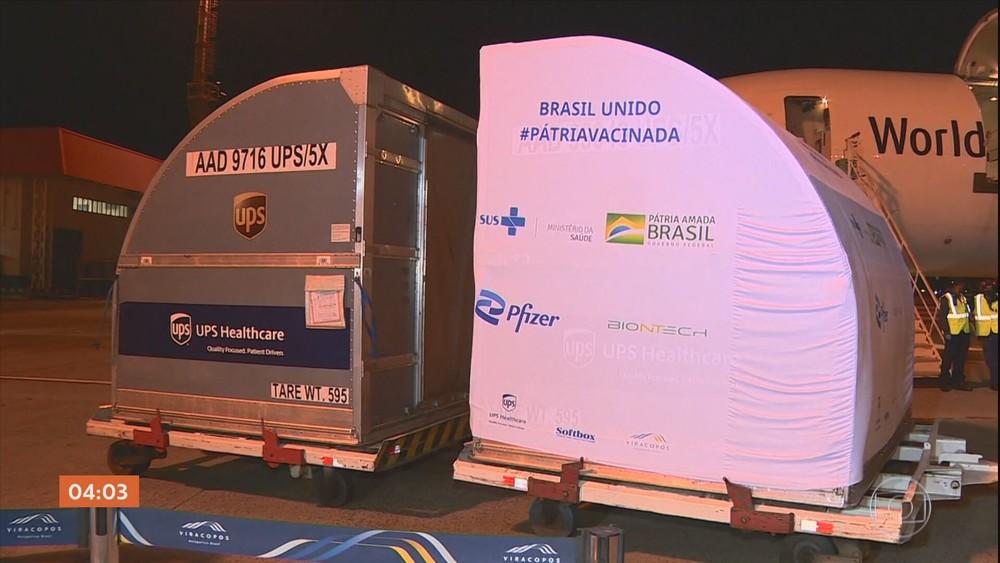 Rio inicia vacinação com primeira remessa da vacina Pfizer nesta terça