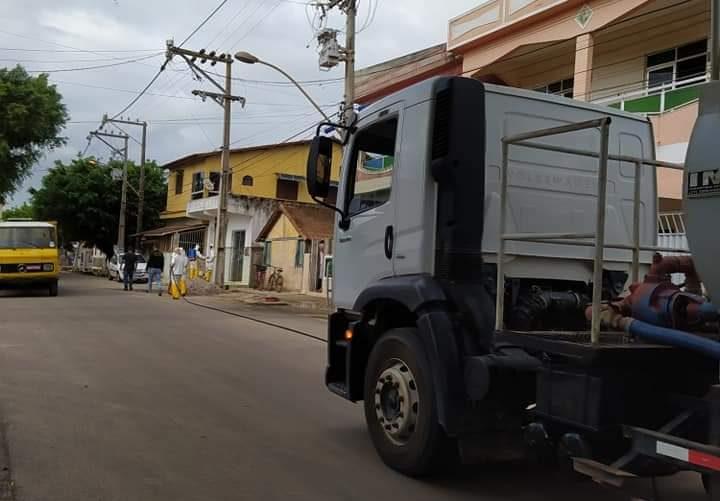 Covid-19: prefeitura prossegue com higienização nas localidades