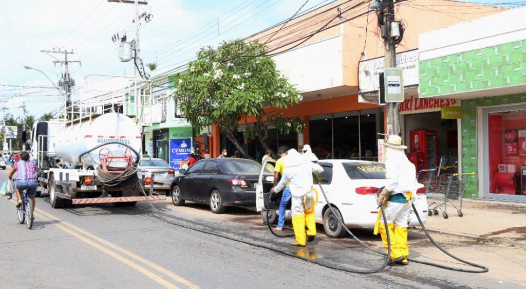 Prefeitura inicia terceira semana de higienização de vias públicas
