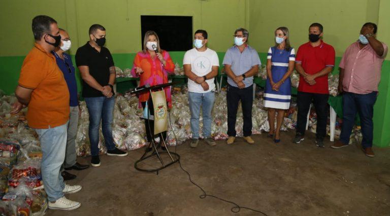 Prefeitura e CDL realizam balanço parcial da Campanha Doe Alimentos e Esperança