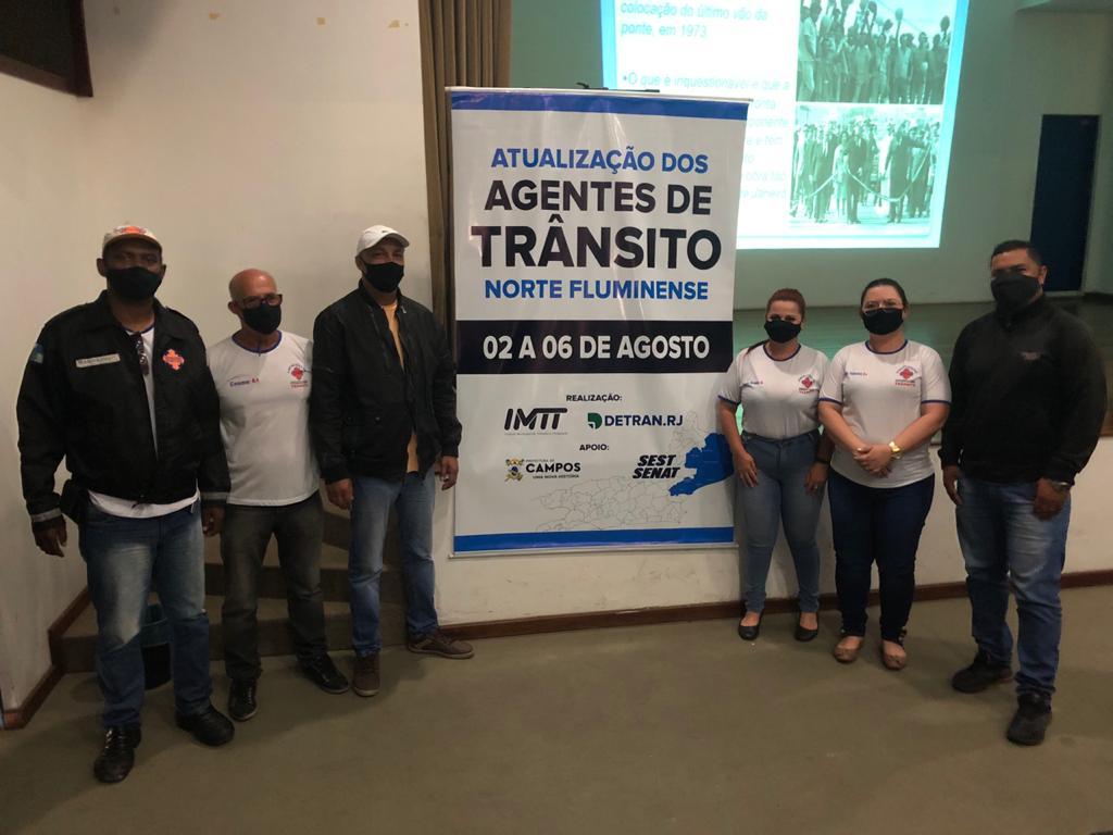 Agentes da Emtransfi participam de Curso de Atualização de Trânsito em Campos