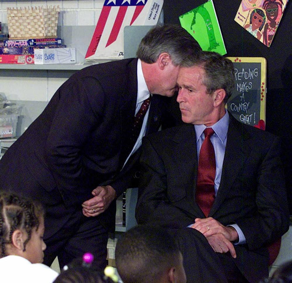 'Ele me disse que a América estava sob ataque': veja como George W. Bush e outros receberam a notícia dos atentados de 11 de setembro