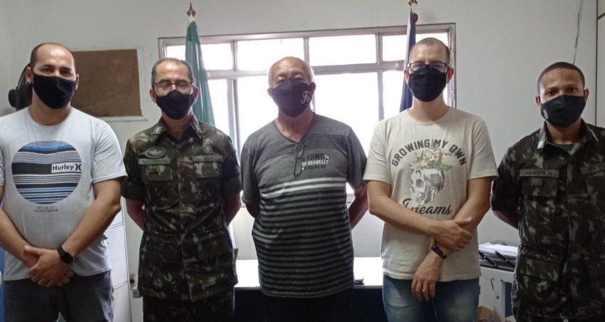 Junta de Serviço Militar recebe Visita de Orientação Técnica